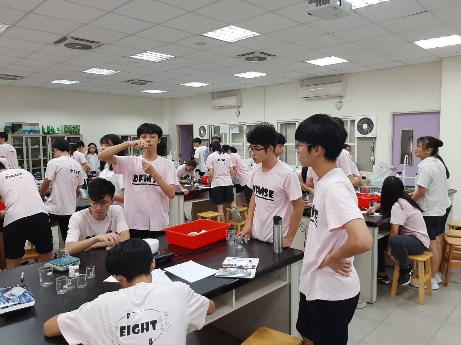109.10.21 丹鳳高中觀議課活動名稱為:史萊姆科學